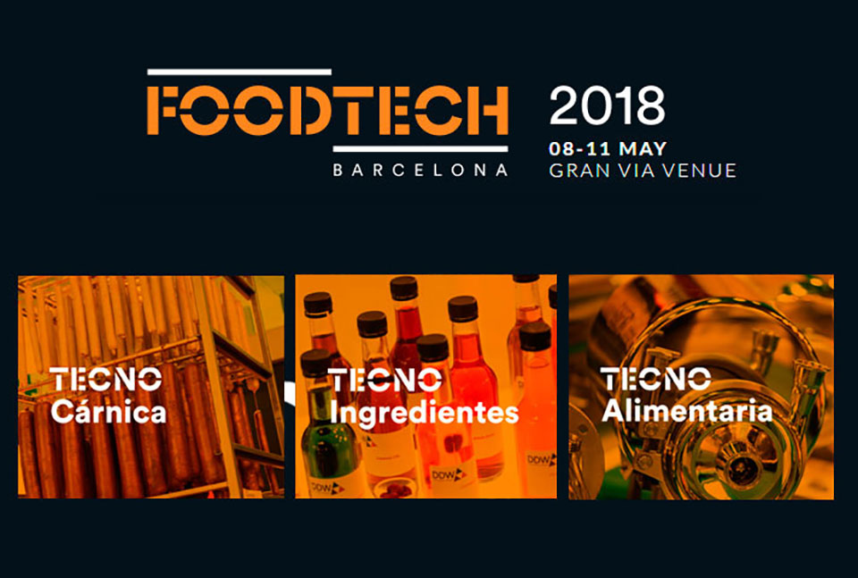 Foodtech Barcelona from 08 to 11 May PAD. 5 stand D446